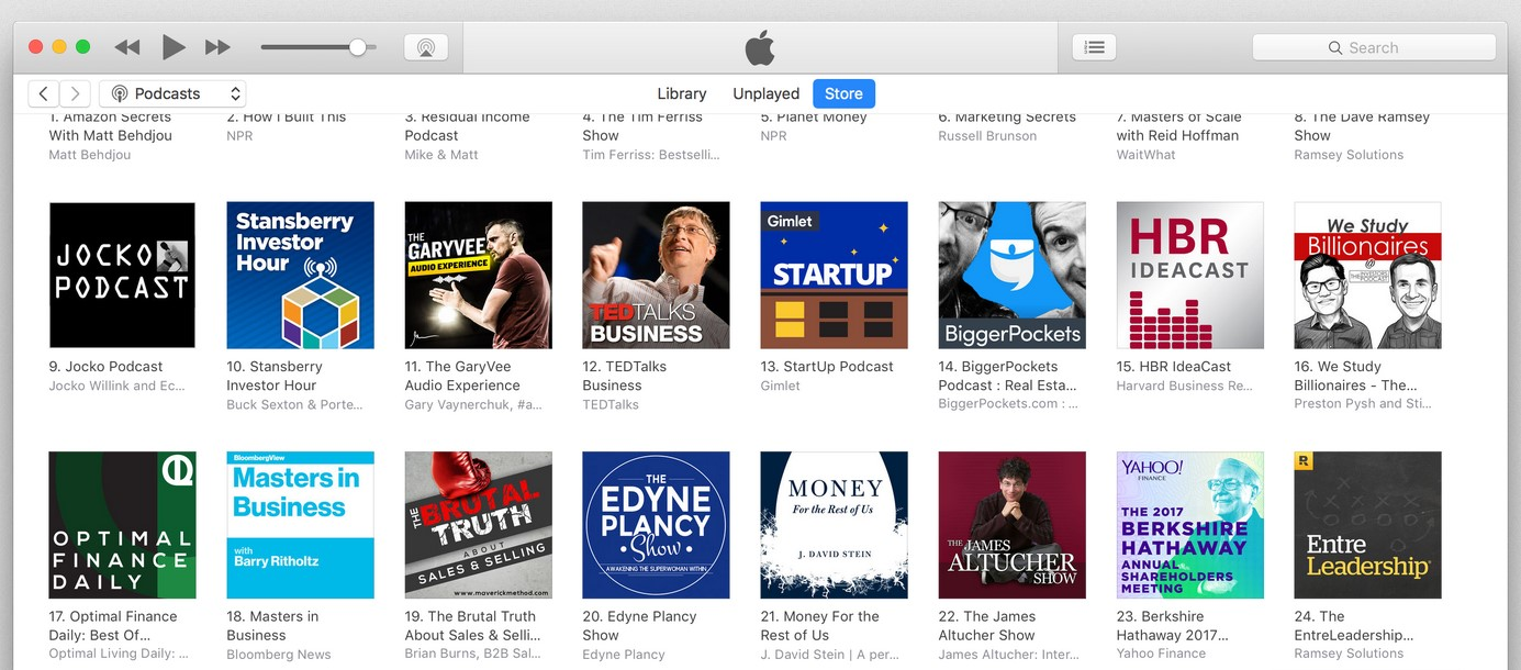 Apple iTune Podcast